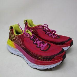 Hoka One One Women's Bondi 5 Pink 1014759VPBY